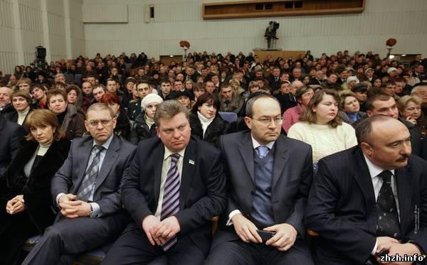 Тимошенко в Житомире